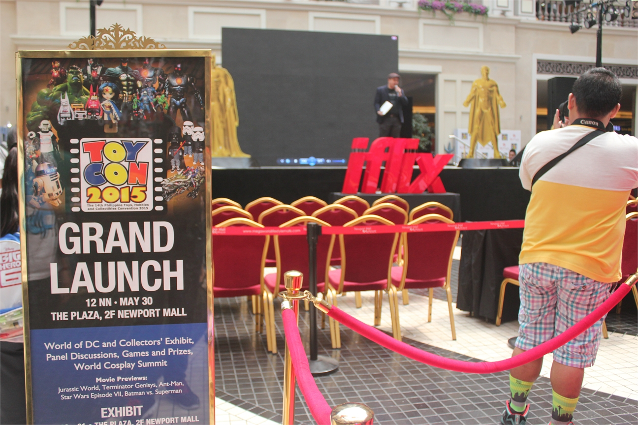 ToyCon 2015 Grand Launch about to start