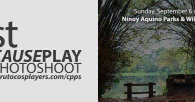 1st CausePlay PhotoShoot (CPPS) on September 6