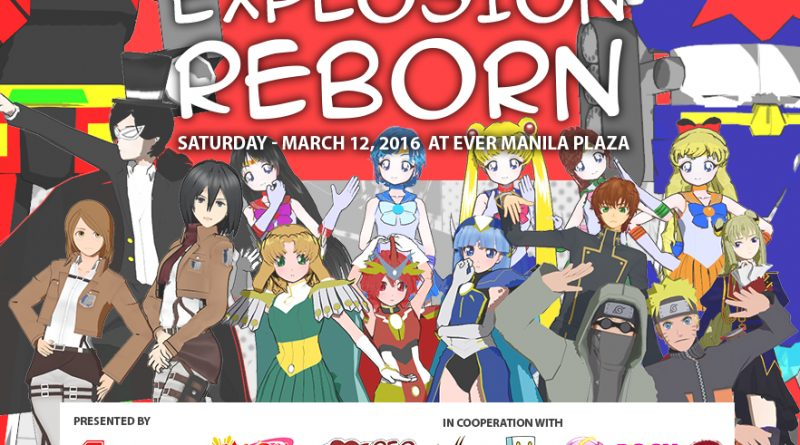 Anime Explosion Reborn comes to Ever Manila Plaza