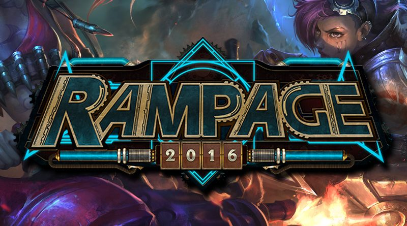 Be part of Rampage 2016 Cosplay Event