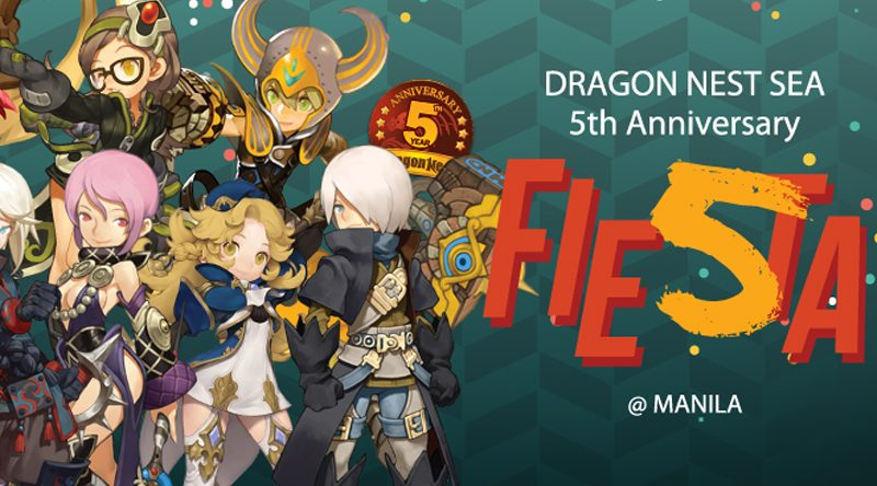 Dragon Nest SEA now on its 5th Year