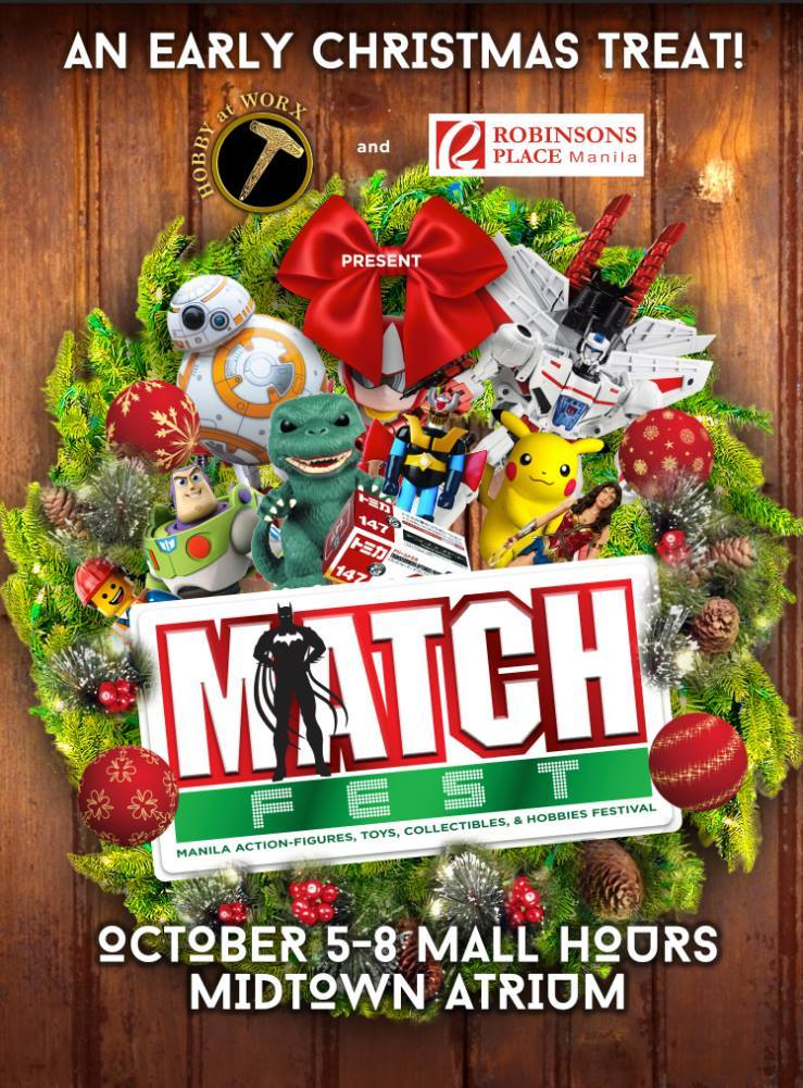 Manila Action-figures, Toys, Collectibles and Hobbies Festival (MATCH FEST)