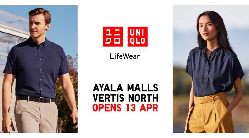 Uniqlo Ayala Malls Vertis North JUMP 50th