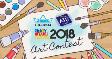 Huion and ATI On-The-Spor Digital Drawing Contest at POF 2018