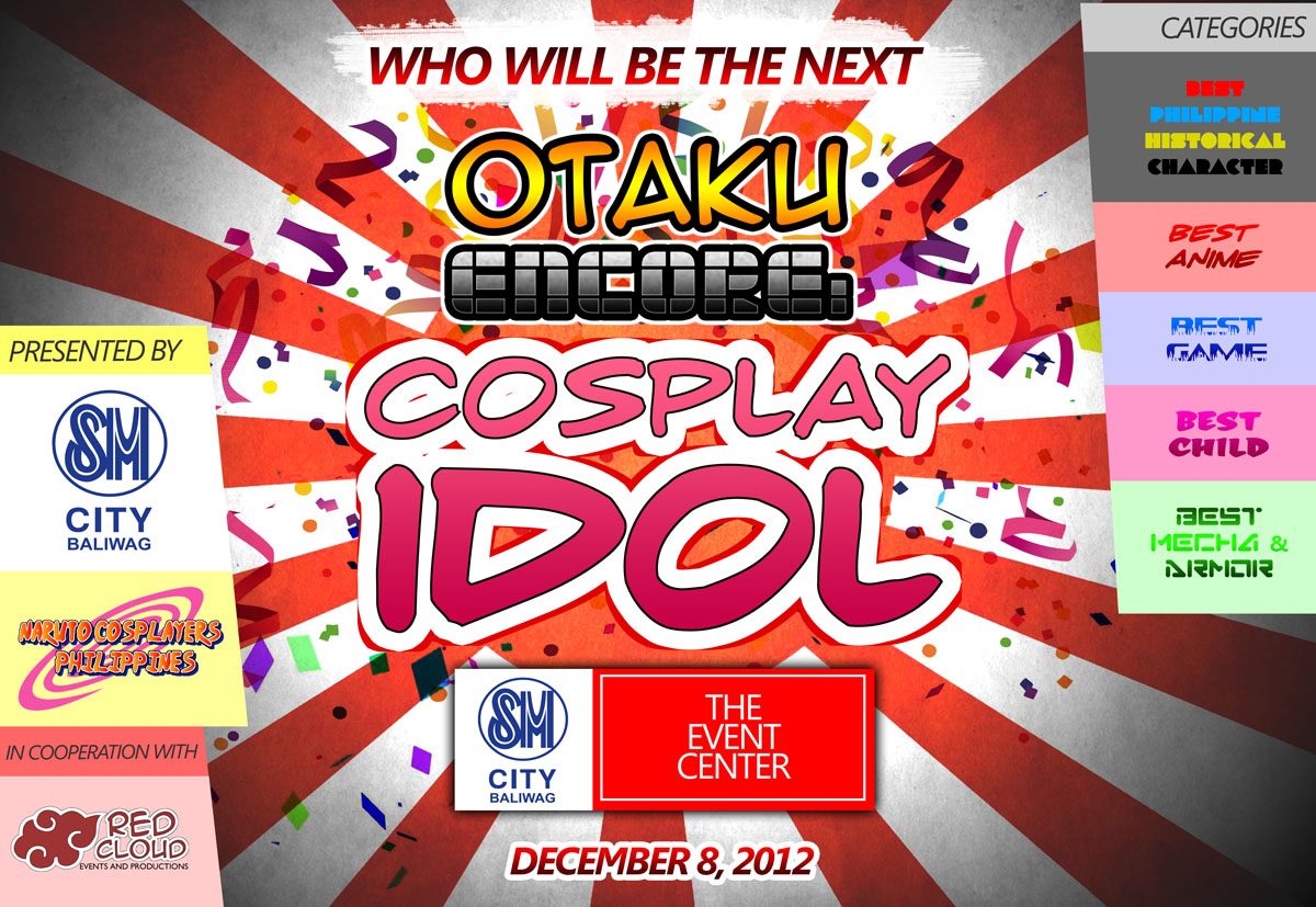 Who will be the next Otaku Encore: Cosplay Idol?