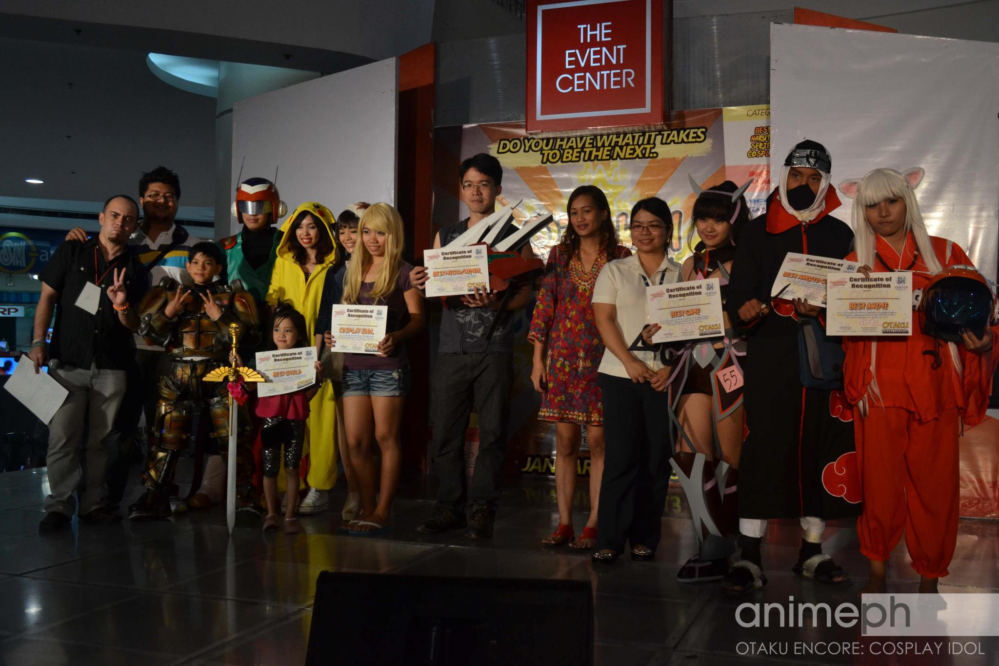 CONGRATULATIONS TO THE OTAKU ENCORE: COSPLAY IDOL @ SM CENTER VALENZUELA WINNERS!