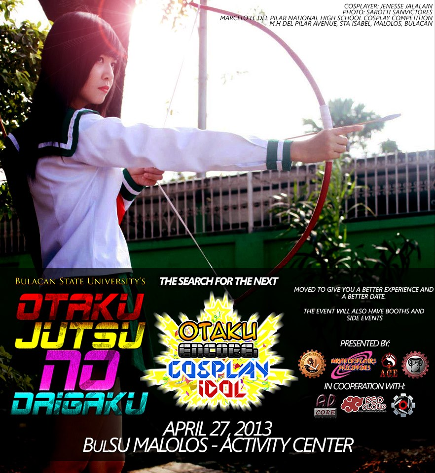 Otaku Encore: Cosplay Idol at Bulacan State University Moved to April 27