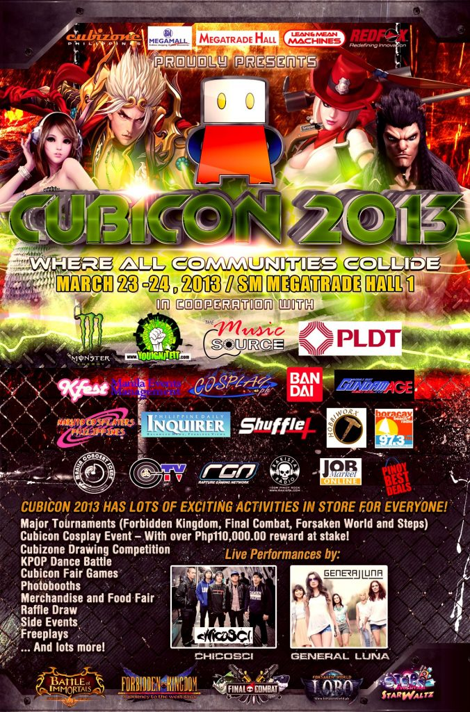 Cubicon 2013-NarutoCosplayersPH