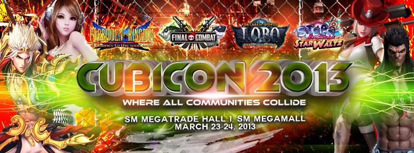 Cubicon 2013: Where ALL Communities Collide