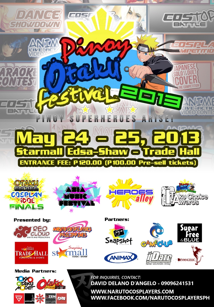 Join Pinoy OtakuFest 2013 – Pinoy Superheroes Arise!