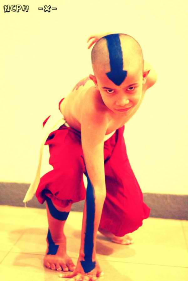 David D'Angelo Jr. as Aang from Avatar: The Legend of Legend of Aang