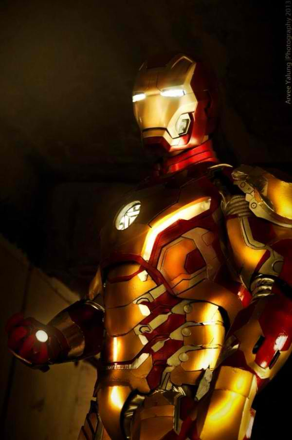 Gerhard Tenerife: Iron Man mk42 from Iron Man 3 Movie