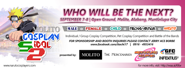 Molito Cosplay Idol S2 Pre-registered contestants