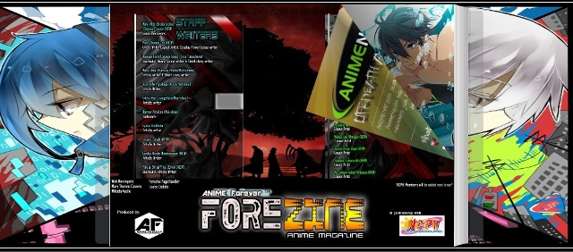 Forezine Anime Magazine maiden issue released