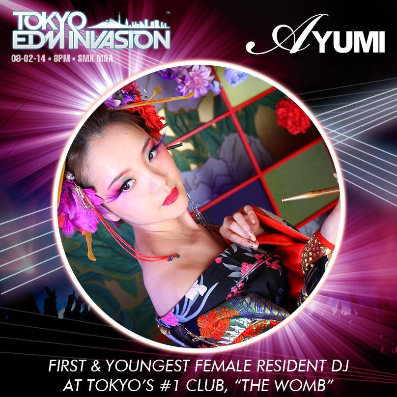 Win tickets and be part of Tokyo EDM Invasion 2014