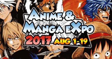 Anime and Manga Expo (AMX) 2017