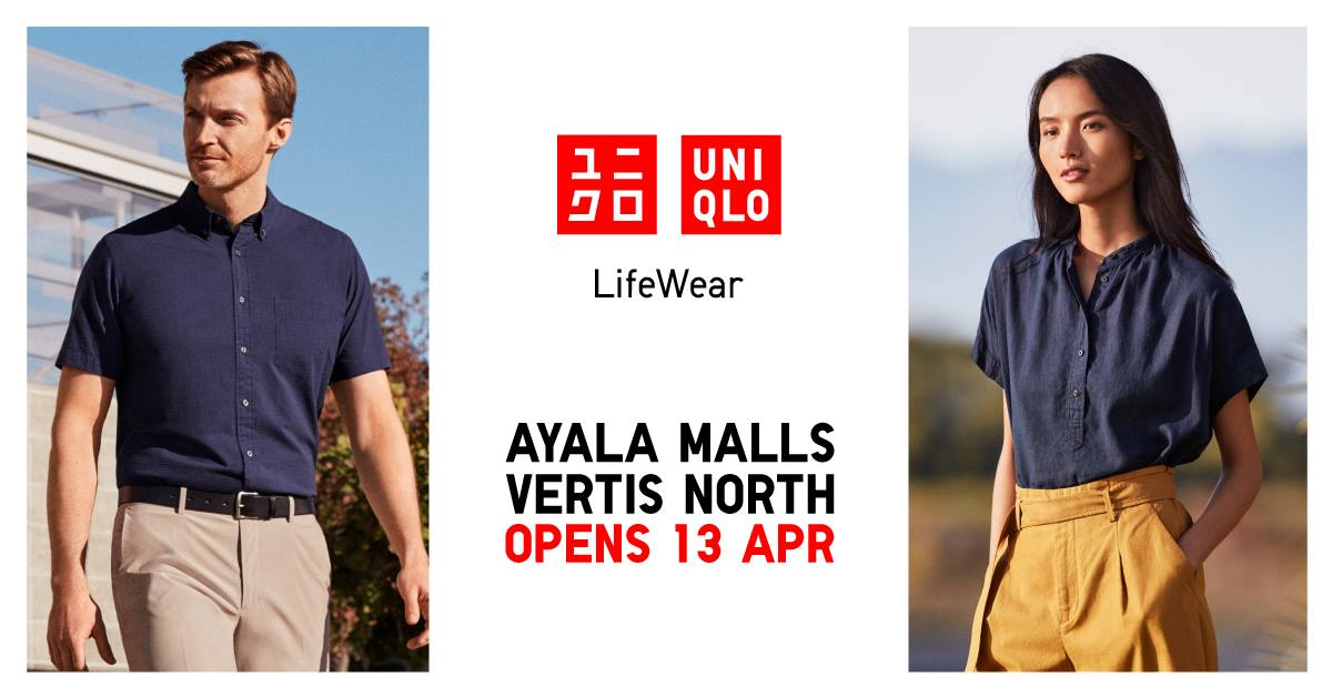 6ab3f191a776c UNIQLO Ayala Malls Vertis North Opens and Launches JUMP 50th shirts ...