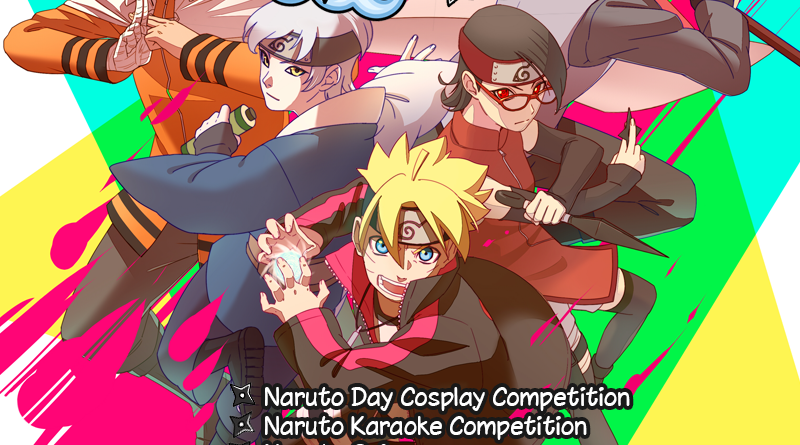 Join us and celebrate Naruto Day