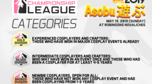 Cosplay Championship League 2019 at SM City Valenzuela and SM Sangandaan