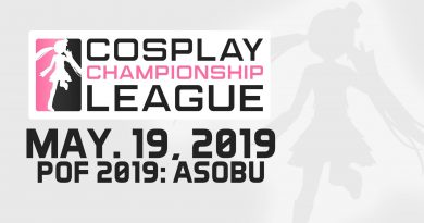 cosplay championship league - pof 2019